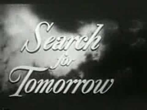 Search for Tomorrow 1951 Search For Tomorrow opening with CBS Logo YouTube