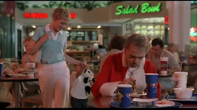 Searching For Santa! movie scenes LL Movie Challenge Bad Santa Lunch Break Scene PopScreen