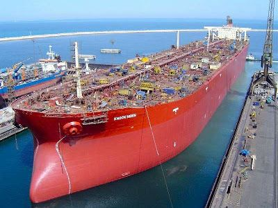 Seawise Giant Largest Ship in the World Damn Cool Pictures