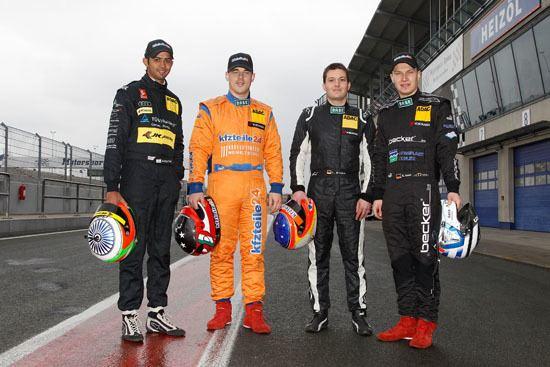 Sebastian Asch ADAC GT Masters 2013 Sebastian Asch und Daniel Dobitsch
