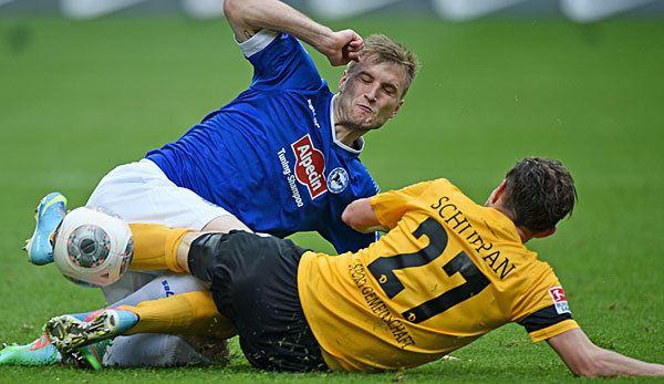 Sebastian Schuppan Linksverteidiger kommt aus Dresden Bielefeld verpflichtet