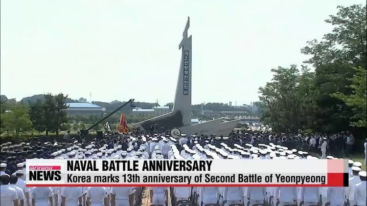 Second Battle of Yeonpyeong S Korea commemorates 13th anniversary of Second Battle of
