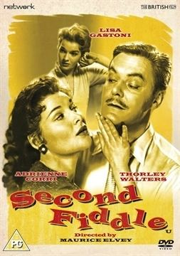 Second Fiddle (1957 film) movie poster