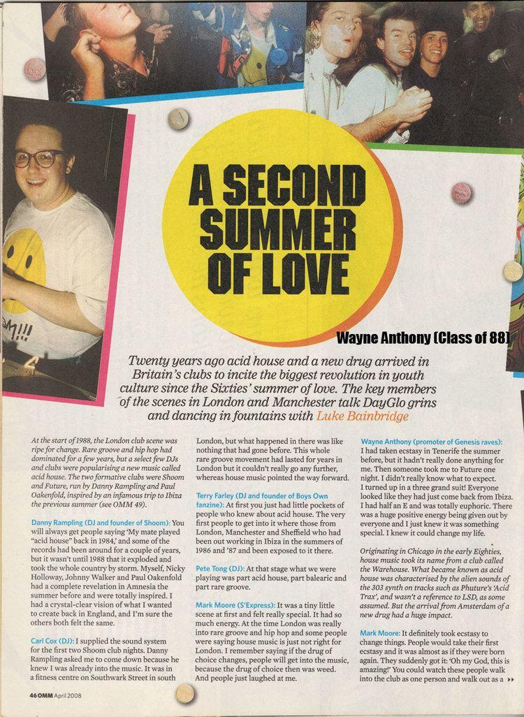 Second Summer of Love - Alchetron, The Free Social Encyclopedia