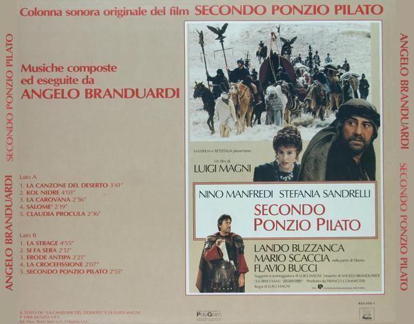 Secondo Ponzio Pilato OST Secondo Ponzio Pilato Soundtracks