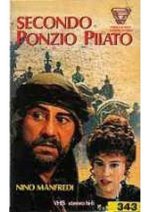 Secondo Ponzio Pilato Ponzio Pilato