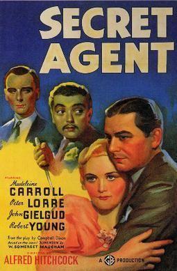Secret Agent (1936 film) Secret Agent 1936 film Wikipedia