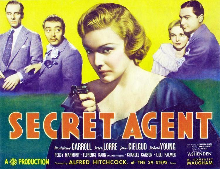 Secret Agent (1936 film) Week 18 Secret Agent 1936 The Hitchcock Project