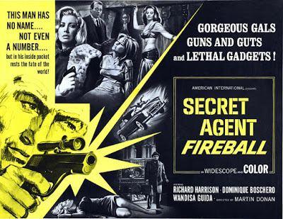 Secret Agent Fireball 13 LE SPIE UCCIDONO A BEIRUT Carlo Savina Secret Agent