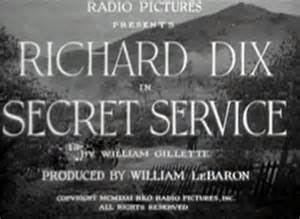 Secret Service (film) movie poster