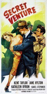 Secret Venture movie poster