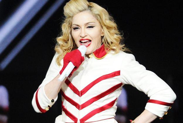 Secretprojectrevolution movie scenes Madonna performs in Atlanta