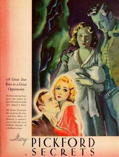 Secrets (1933 film) Secrets Mary Pickford Foundation