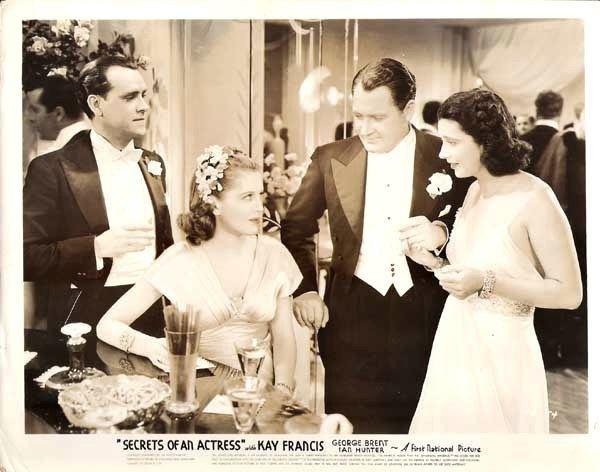 Secrets of an Actress Secrets of an Actress 1938 Kay Francis Life Career