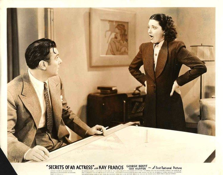 Secrets of an Actress KAY FRANCIS GEORGE BRENT Secrets Of An Actress 1938 eBay