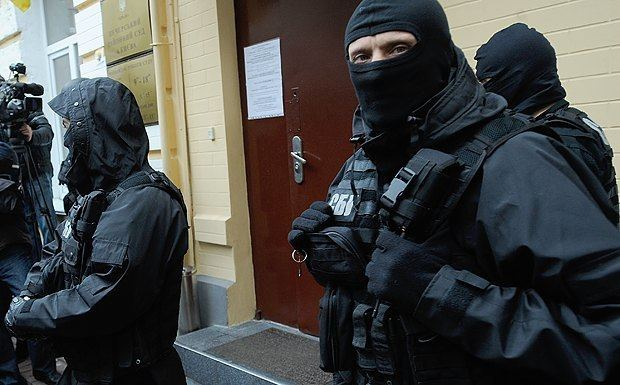 Security Service of Ukraine Security Service of Ukraine vow 39all measures39 to disarm Right