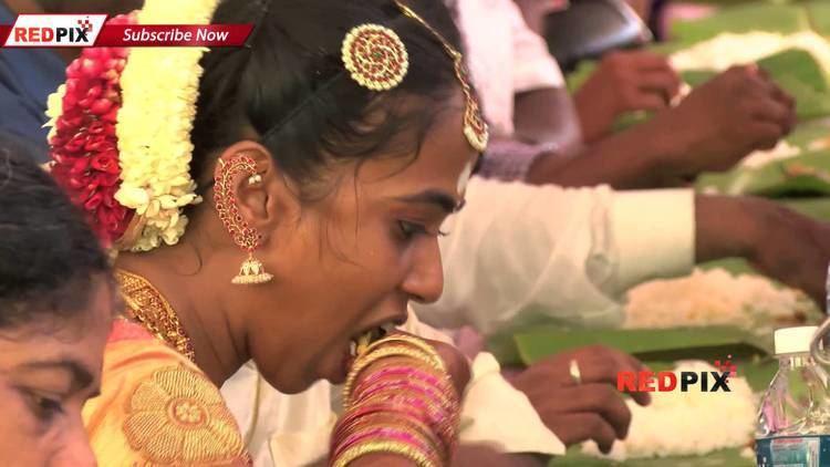 Seeman (politician) Director Seeman Wedding Seeman39s amp his Wife enjoy the wedding feast