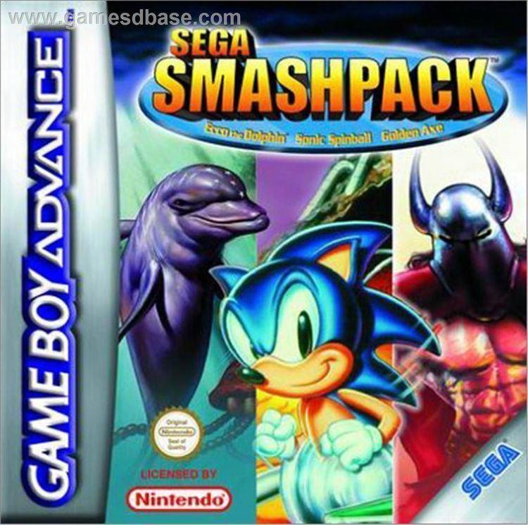 Sega Smash Pack Sega Smash Pack USA ROM gt Gameboy Advance GBA LoveROMscom