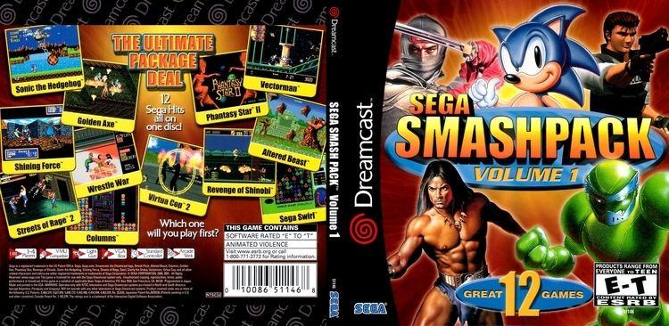 Sega Smash Pack wwwemuparadisemedccovers164Sega20Smashpack