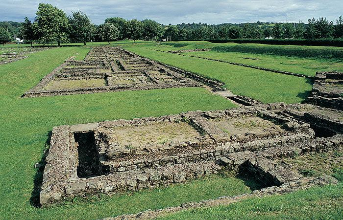 Segontium Segontium Roman Ruins Caernarfon Paws In North Wales