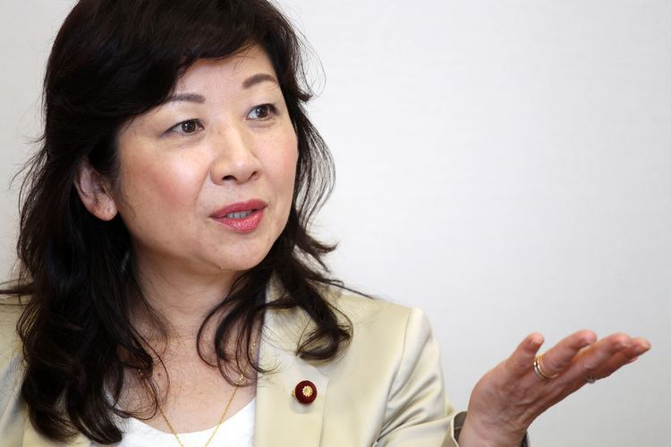 Seiko Noda Potential Abe successor speaks out against security bills