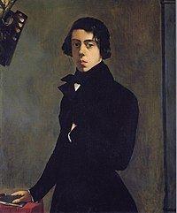 Self-portrait (Chassériau) httpsuploadwikimediaorgwikipediacommonsthu