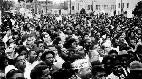Selma to Montgomery marches Black History Month SelmatoMontgomery Marches ABC News