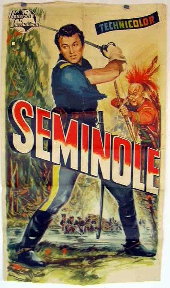 Seminole (film) SEMINOLE MOVIE POSTER SEMINOLE MOVIE POSTER