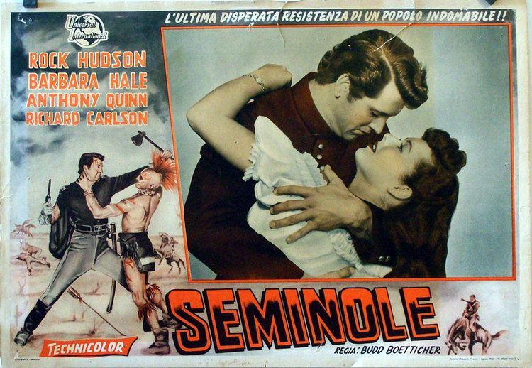 Seminole (film) TRAICION EN FORT KING MOVIE POSTER SEMINOLE MOVIE POSTER