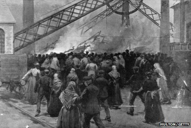 Senghenydd colliery disaster 1913 Senghenydd mine disaster Tragedy and heroism BBC News
