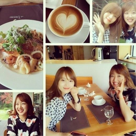Seo Min-jung Seo Min Jung Enjoys Some Quality Time with Lee Soo Young Soompi