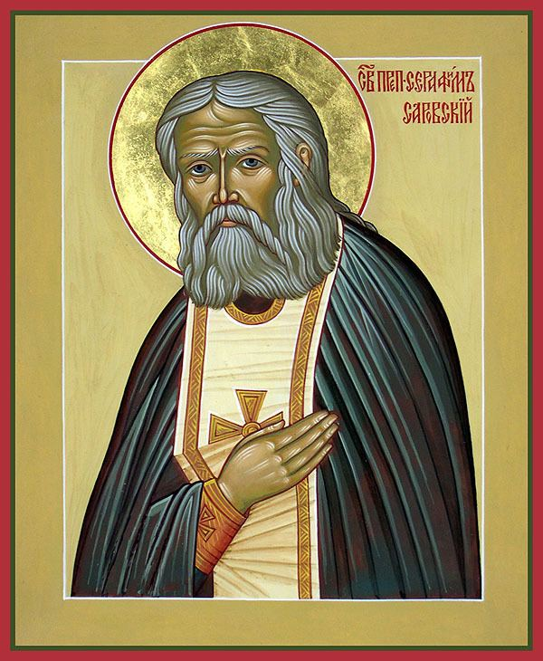 Seraphim of Sarov Repose of the Venerable Seraphim the Wonderworker of Sarov