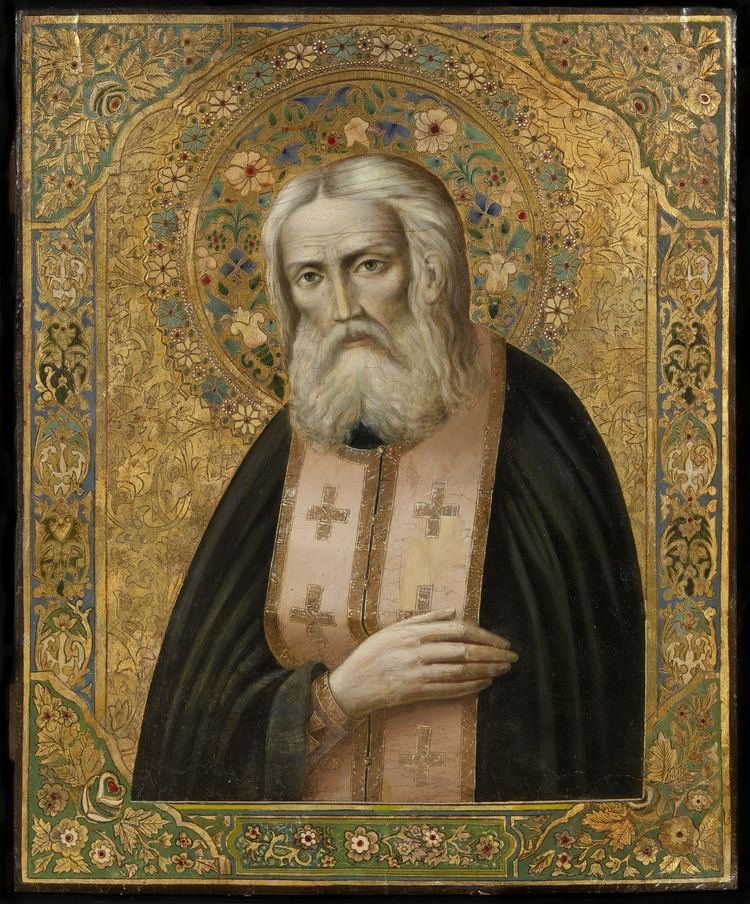 Seraphim of Sarov FileSeraphim of Sarov after 1903 privcolljpg