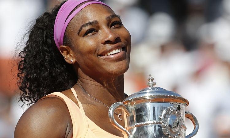 Serena Williams Serena Williams beats Lucie Safarova at French Open to win