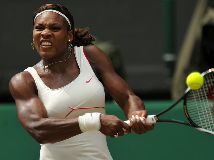 Serena Williams Female tennis players out of shape The Student Room