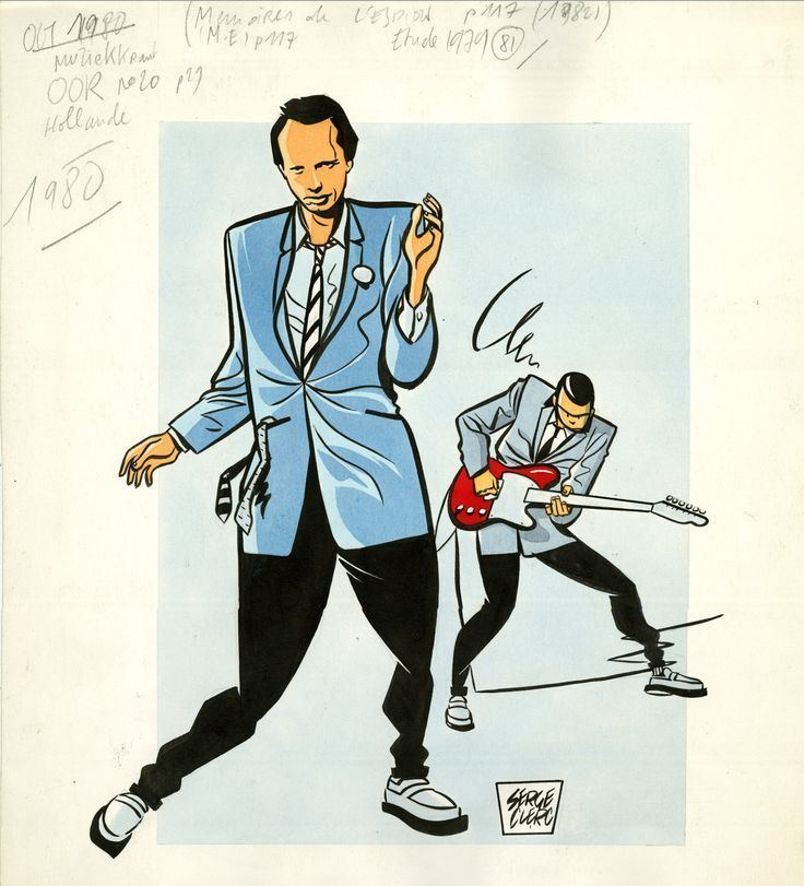 Serge Clerc Serge Clerc on Pinterest Rockers The Clash and Draw