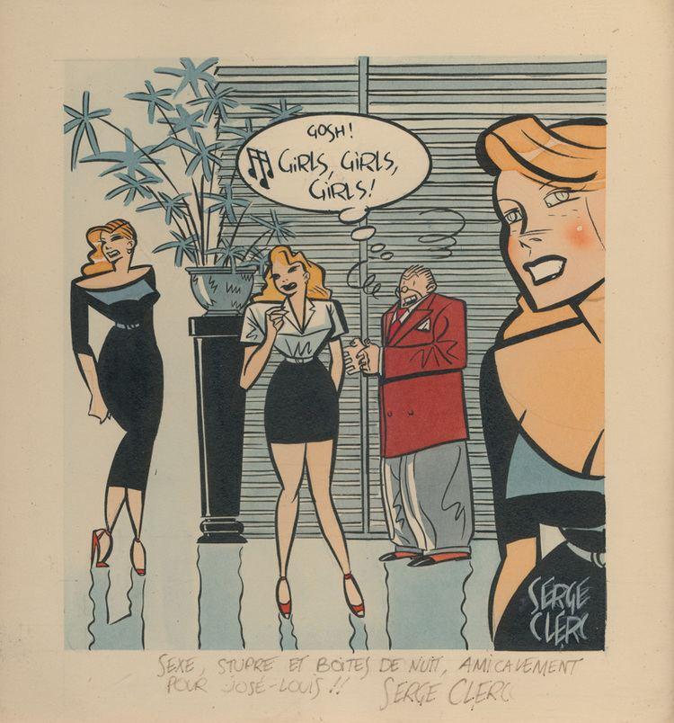 Serge Clerc Serge Clerc Gosh Girls Girls JosLouis Bocquet
