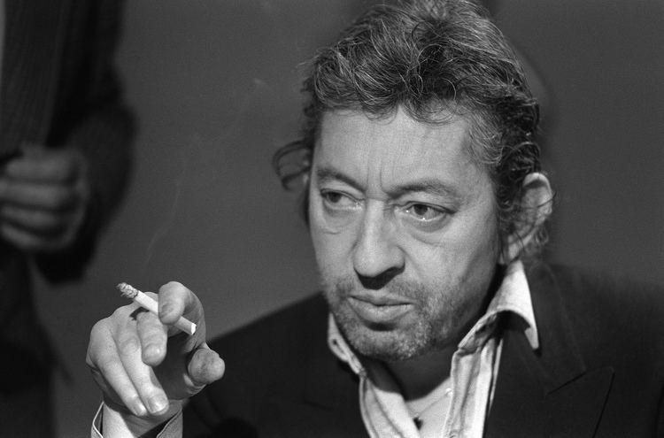 Serge Gainsbourg Portrait de Serge Gainsbourg le 11 mars 1984 Paris