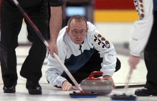 Serge Reid Serge Reid la Coupe Canada de curling sil le veut Serge