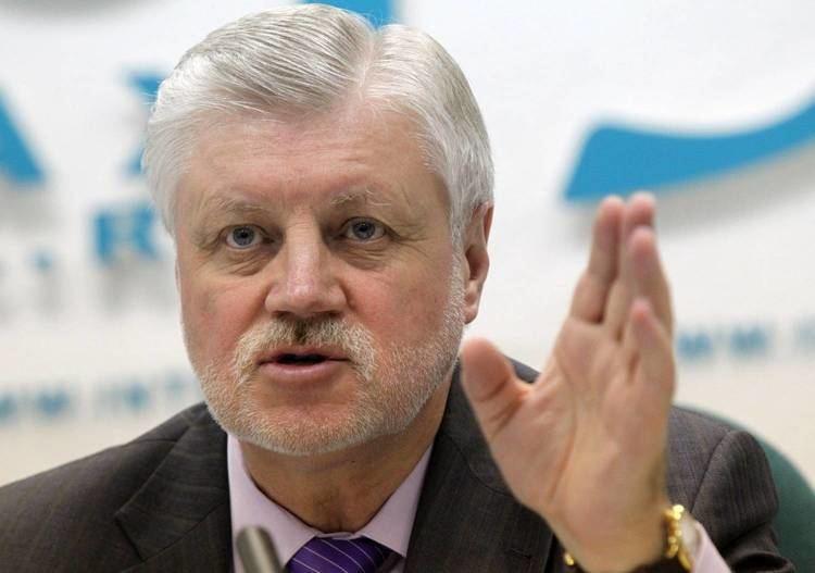 Sergey Mironov Mironov proposes executing terrorists and their
