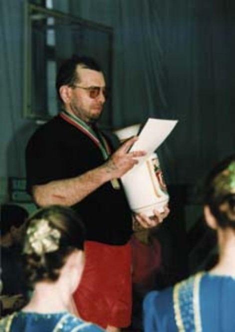 Sergey Mishin Mishin Sergey is the Legend of the World of kettlebell sport