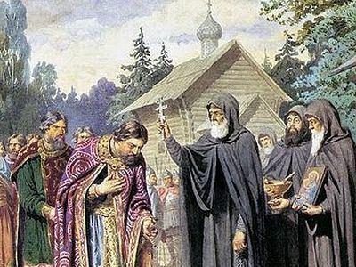 Sergius of Radonezh St Sergius of Radonezh Ru