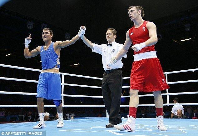 Serik Sapiyev London 2012 Olympics boxing Fred Evans gets silver as