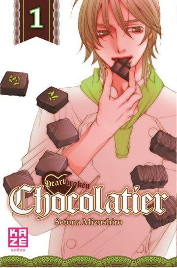 Setona Mizushiro SETONA MIZUSHIRO Heartbroken Chocolatier 01 Manga