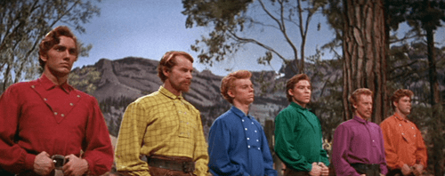 Seven Brides for Seven Brothers The BarnRaising Dance in Seven Brides for Seven Brothers 1954