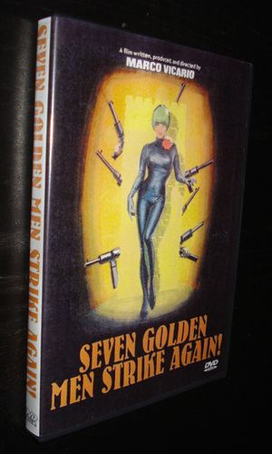 Seven Golden Men Strike Again SEVEN GOLDEN MEN STRIKE AGAIN 1966 DVD modcinema