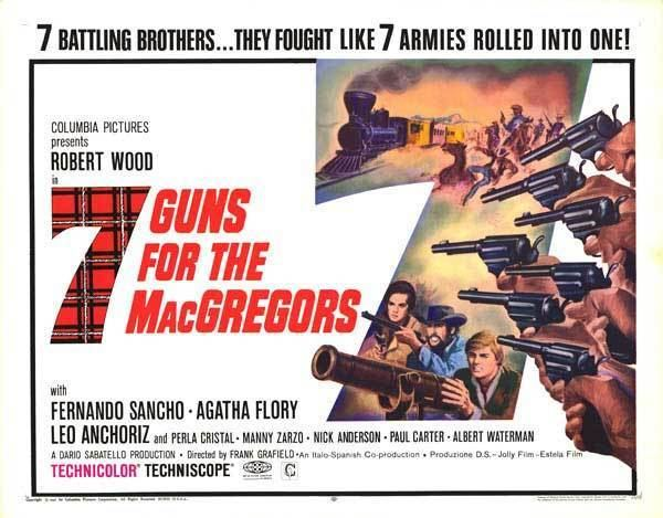 Seven Guns for the MacGregors httpswwwmoviepostercompostersarchivemain5