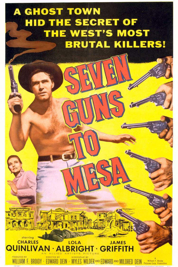Seven Guns to Mesa wwwgstaticcomtvthumbmovieposters41082p41082