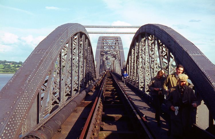Severn Railway Bridge R1623 Severn Railway Bridge 20th June1964 R1623 The w Flickr