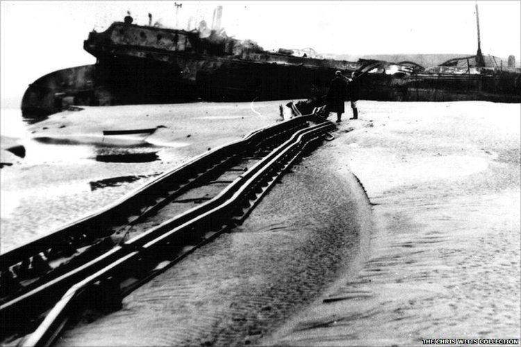 Severn Railway Bridge BBC In pictures Severn Bridge Disaster 50th anniversary